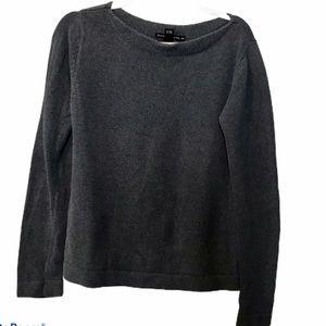 Club Monaco medium grey sweater